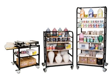 ware carts Amaco