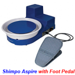 shimpo aspire with foot pedal